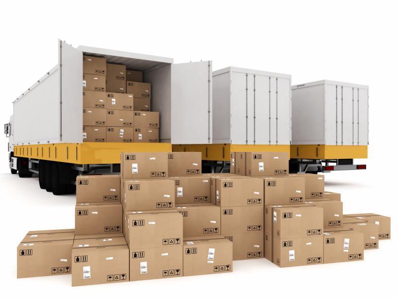 Serviço de transporte e distribuição