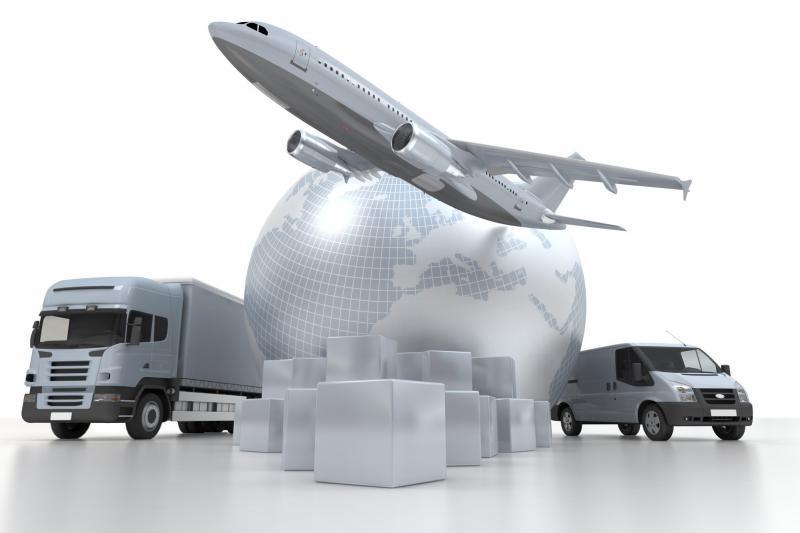 Transporte aéreo e terrestre