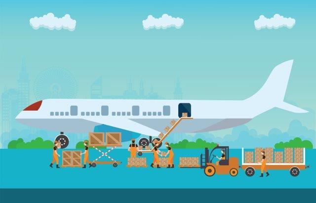 Transporte aéreo logística