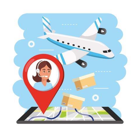 Transporte aéreo nacional