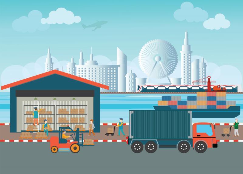 Transporte e movimentação de materiais