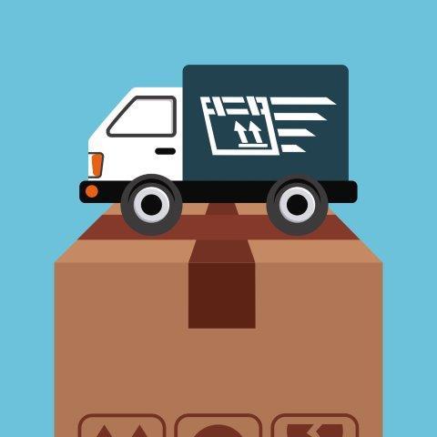 Transporte de material promocional